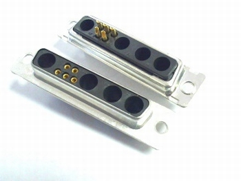 Sub D 9W4 connector 5 polig female DB9W4SA00
