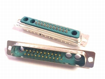 Sub D connector 22 polig male DC25W3PA00