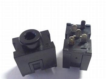 Jackbus voor printmontage 3,5mm hoog