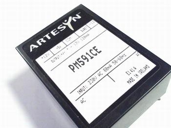 Power supply PM591CE Artysyn 12V, +12V, +5V 120ma