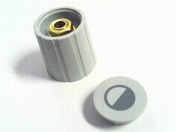 Spantangknop voor 6mm as met kapje