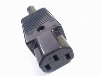 Stekker 230V geschikt voor chassis male