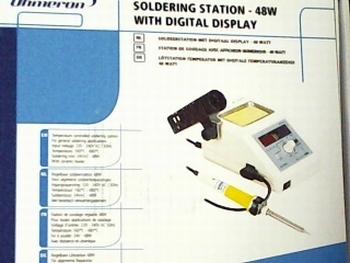 Soldeerstation 48W - 160-480°C met digitale uitlezing