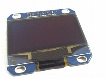 OLED display 1,3 inch 6 pins