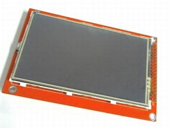 TFT display 3.5 inch met touchscreen en SD entry