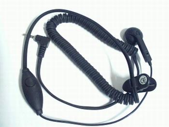 Oordopje met microfoon en vastzetclip