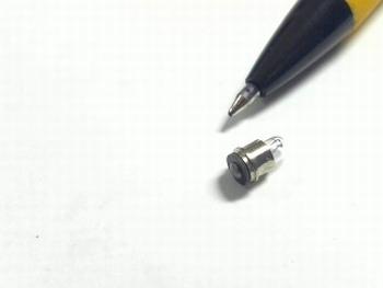 Miniatuur lampje 14 V 65ma met sub midget fitting