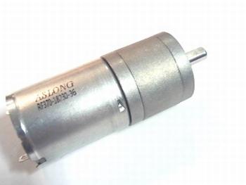 Gelijkstroom motor 3-9 Volt met vertraging 77 rpm