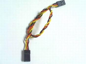 3 pins twisted female naar female dupont kabel