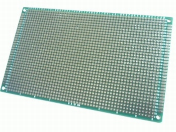 Experimenteerprint 90mm X150mm met dubbelzijdig eilandraster