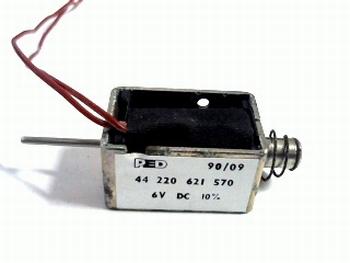 Solinoid PUSH/PULL 6V DC