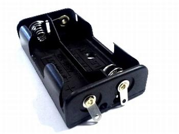 Batterijhouder 2 x AA soldeeraansluiting