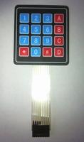 Zelfklevend membraam keyboard 4 X 4 = 16 toetsen