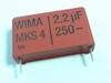 Condensator MKS4 2,2uF 20% 250V