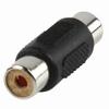 Adapter plug RCA/tulp female naar RCA/tulp female