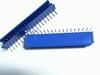 Header enkel 18 pins 2,54mm haaks met plastic bescherming