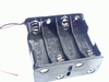 Battery holder for eight AA cells