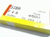 Zekeringen 4A 450V 5x25 SNEL 10 stuks