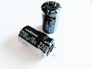 ELCO 2200uf - 16 volt