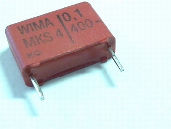 Condensator MKS4 0,1uF / 100nF 400V