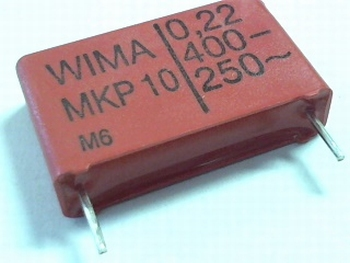 Capacitor MKP10 0,22uF  / 220nF  400V