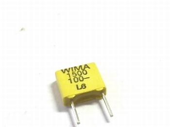 Condensator FKC2 1500pF 20% 100V