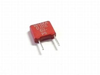 Condensator MKS2 0,15uF / 150nF 10% 63V