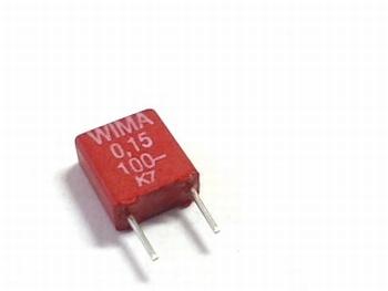 Condensator MKS2 0,15uF / 150nF 5% 100V