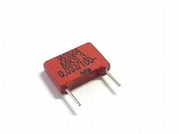 Condensator MKS3 0,033uF / 330nF 5% 100V