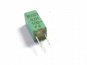 Capacitor FKP02 0,01uF 12,5% 100V