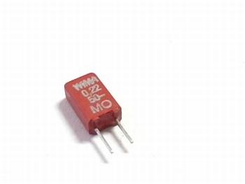 Condensator MKS02 0,22uF / 220nF 20% 50V