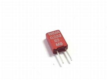 Condensator MKS02 0,033uF / 330nF 20% 63V