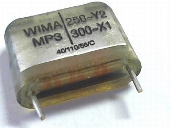 Capacitor MP3Y2 0,022uF  / 22nF  20% 250V