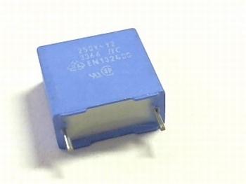 Capacitor MKP 4,7nF 250V