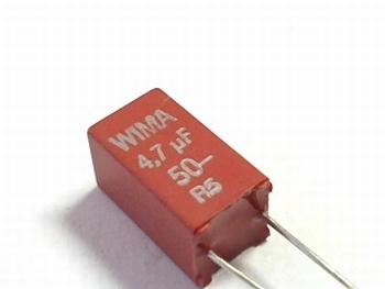 Condensator MKS2 4,7uF 10% 50V