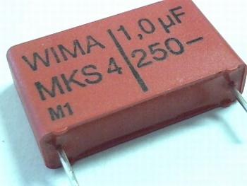 Condensator MKS4 1uF 10% 250V