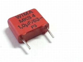 Condensator MKS4 1uF 20% 63V
