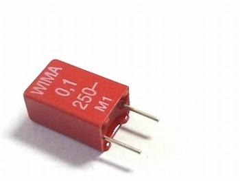 Condensator MKS2 0,1uF / 100nF 10% 250V
