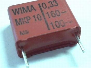 Capacitor MKP10 0,33uF  / 330nF  20% 160V