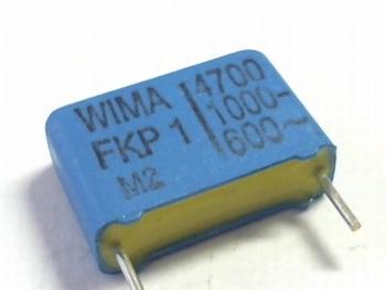 Condensator FKP1 4700pF 20% 1000V