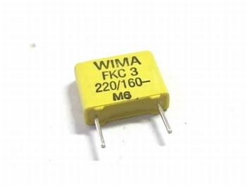 Condensator FKC3 220pF 20% 160V