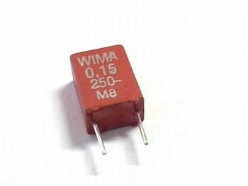 Condensator MKS2 0,15uF / 150nF 20% 250V