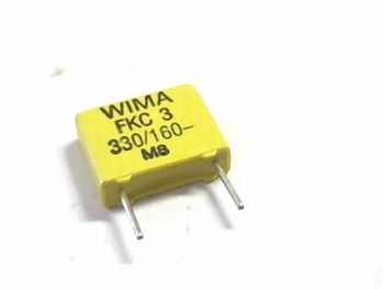 Condensator FKC3 330pF 20% 160V