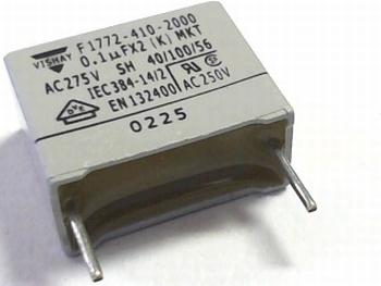 Capacitor X2(K) MKT 0.1uF