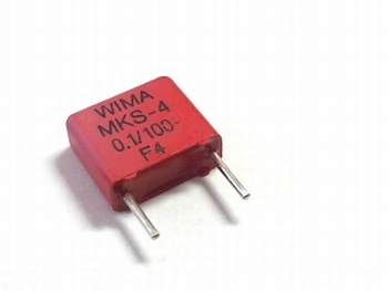 Condensator MKS4 0.1UF / 100nF 5% 100V