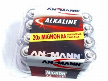 20 pack mignon (AA) batterij