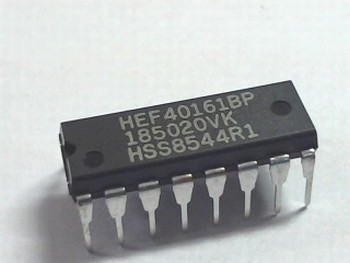 HEF40161 Synchronous Programmable 4-bit Counters