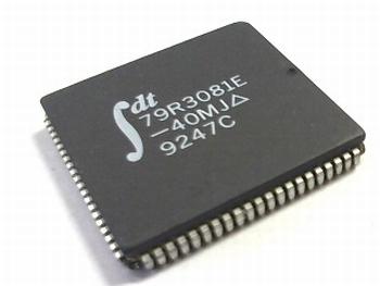 79R3081E-40MJ RISC microprocessor