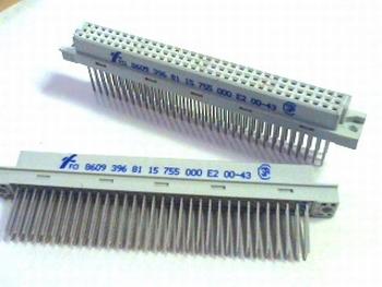 DIN41612 connector 96 polig female recht