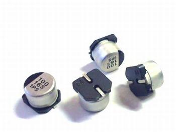 SMD ELCO 100uF 16V aluminium